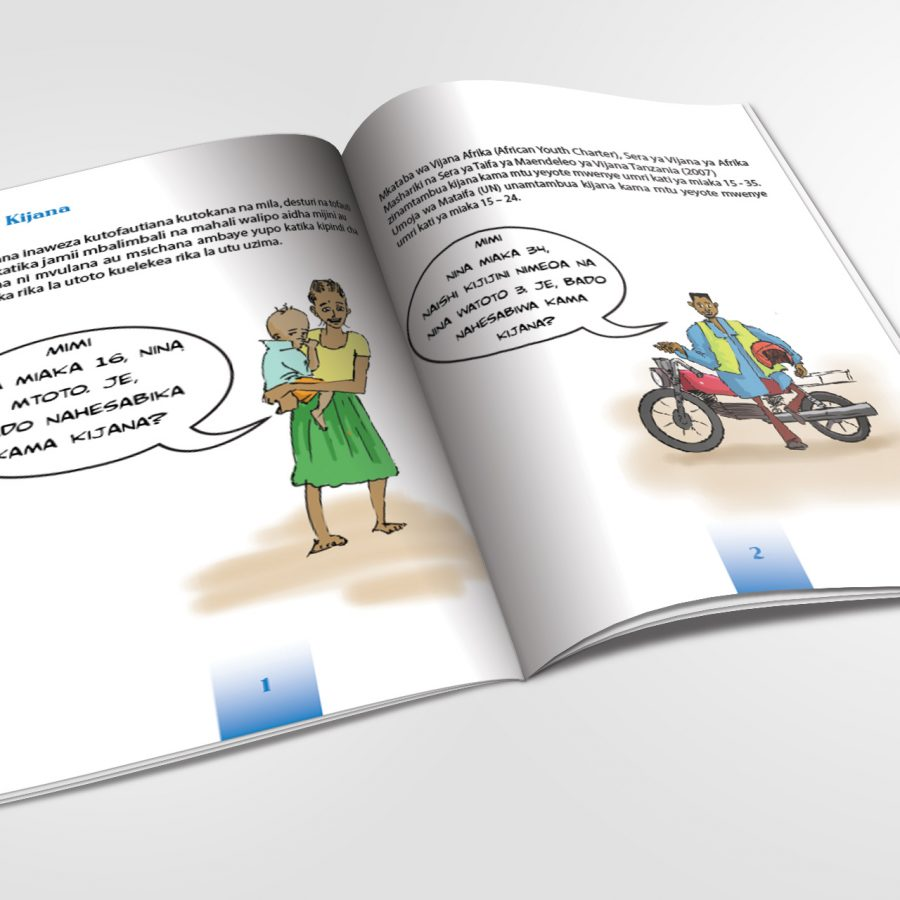 Booklet for United Nations Association of Tanzania